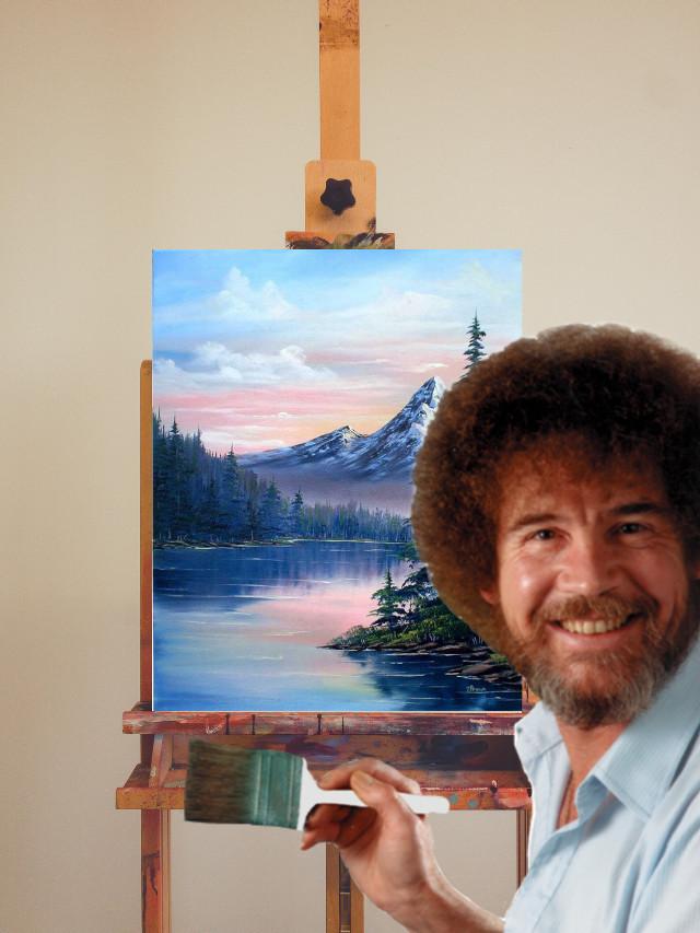 Bob ross #bobross #legend #drawing #imagination