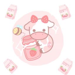 kawaii milkcarton qwertycow freetoedit