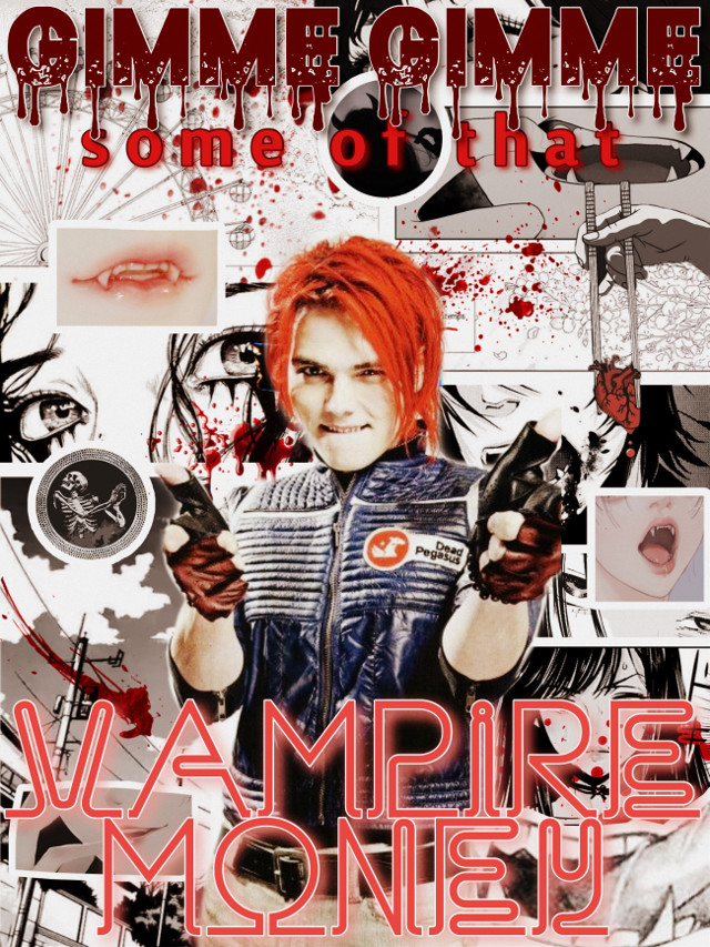 SOLD :: TICKET (1) for VAUDEVILLE  ✄ - - - - - - - - - - - - - - - - - - - -   ✾ MAIN EVENTS ✾  act i. performer ✾ gerard way / party poison act ii. stage set ✾ poster act iii. acrobatics ✾ unrecorded act iv. music hall ✾ vampire money (mcr)  ✄ - - - - - - - - - - - - - - - - - - - -  ✾ ALSO PRESENTING ✾  intermittent music ✾ unreliable veins (cardinal harbor) poetry ✾ xx art viewings ✾ vampires and comics  notes from the host ✾ @ghostiniero requested this!! :)  ✄ - - - - - - - - - - - - - - - - - - - -  ✾ invitations have been extended to ✾              ⁂ DOPPELGÄNGERS ⁂ ✘ @ahrinami ✘ @thiskidisntalright ✘ @fairy_boi_z ✘ @youvebeenuninvited ✘ @h4ndmadeheaven ✘ @porck_bunzz ✘ @t_swageyama ✘ @slcwdxncing ✘ @lifetuner1984 ✘ @thekrqken- ✘ @funghxul- ✘ @jayjayisnotonfire ✘ @q_seqnce_dxwn_belxw ✘ @bvb_rat420 ✘ @hxtelbellamuerte- ✘ @ghostiniero ✘  ⁂     join or leave anytime by request     ⁂  #mcr #gerardway #dangerdays #killjoys #manga #vampire #blood #scary #aesthetic #poster #vampiremoney #mychem #mychemicalromance #emo #punk #rock #band #lyrics #music #comic #cool #partypoison #party #neon #night