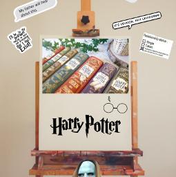 harrypotter hogwarts dracomalfoy ronweasley fredweasley hermionegranger dobby hagrid voldemort harry home freetoedit ircinnerartist innerartist