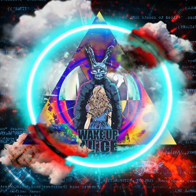#wakeupworld #sureal #trippy #darko #alice #rabbithole #party #acid #shrooms #night #light #happy #holloween #everyone #picsart #knowskilz #303 #abstract #bizzare #alternative