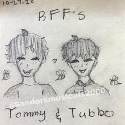 tubbo tubbo_ tommy tommyinit minecraft bee bffs4ever bffs