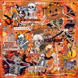 spooky halloween 2020 orange skeletons skeleton skeletonhand spookyseason spookyscaryskeletons spookybats pumpkins pumpkinhead halloweenspirit halloween2020 complexedit complexeditoverlay overlaysedit freetoedit