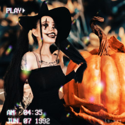 replay picsarteffects halloween beauty heypicsart pumpkin freetoedit