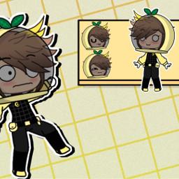 freetoedit remixit donotuse donotsteal notyours donotedit donotremix donotremixit lovelyloaf gacha gachaoc gachaclub oc ocs gachaocs amongus gachaamongus weird oof haloween haloween2020 costume yellow