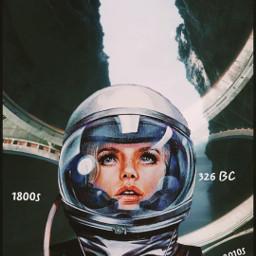 timetravel astronaut spacetime reality freetoedit