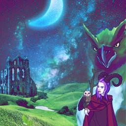 fantasy fantasyart magic witches witchcraft myimagination freetoedit