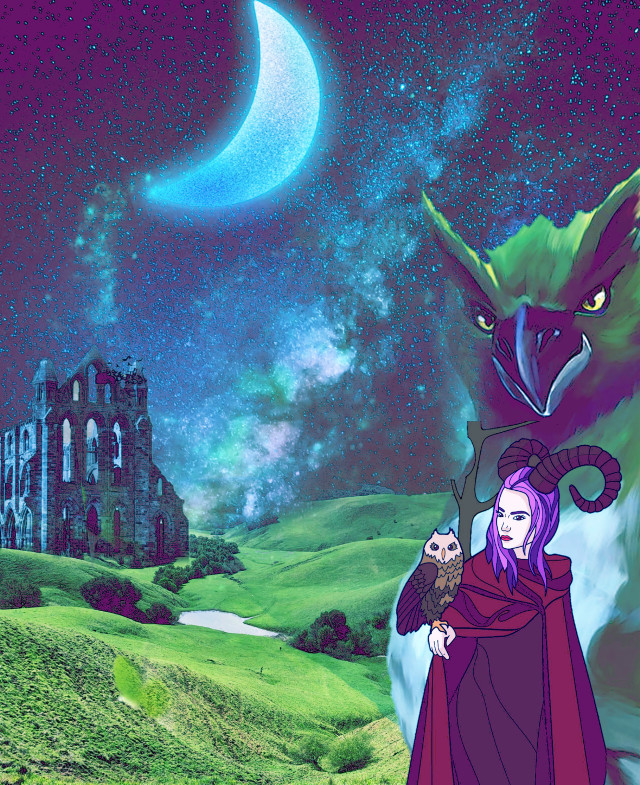 #fantasy #fantasyart #magic #witches #witchcraft #myimagination