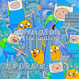 blue edit complex simple finnthehuman jakethedog finn jake dog human butterfly bee butterflys and bees