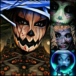@asweetsmile1 halloween witch candy blendedimages blend creative creativeart background woman portrait picsart fchappyhalloween2020 happyhalloween2020
