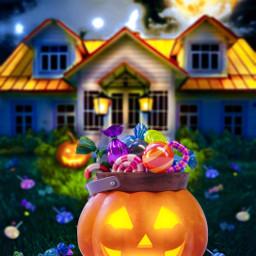 freetoedit halloween candy jackolantern happyhalloween fchappyhalloween2020