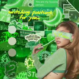 green arianagrande
