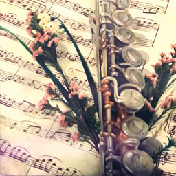 freetoedit art drawing artwork illitration traditionalart oilpaint realism flute music stilllife