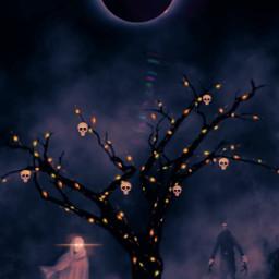 halloweenscream ghost scary halloweenspirit madewithpicsart freetoedit