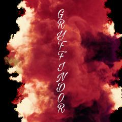gryffindor redsmoke freetoedit