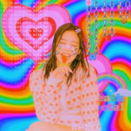 indie edit 2000saesthetic 2000sindiekid 2000skid jennie blackpink jenniekim rainbow aesthetic hypercore kidcore hobicore indiecore chain kpop