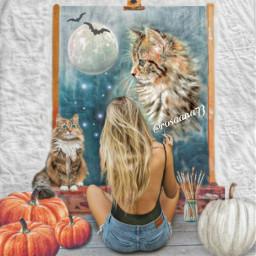freetoedit 4 catpaint catdrawing canvas ircinnerartist