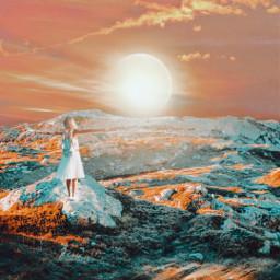 picsart myedit myremix surreal freetoedit sky photomanipulation photoart fxeffects sunrise unsplash