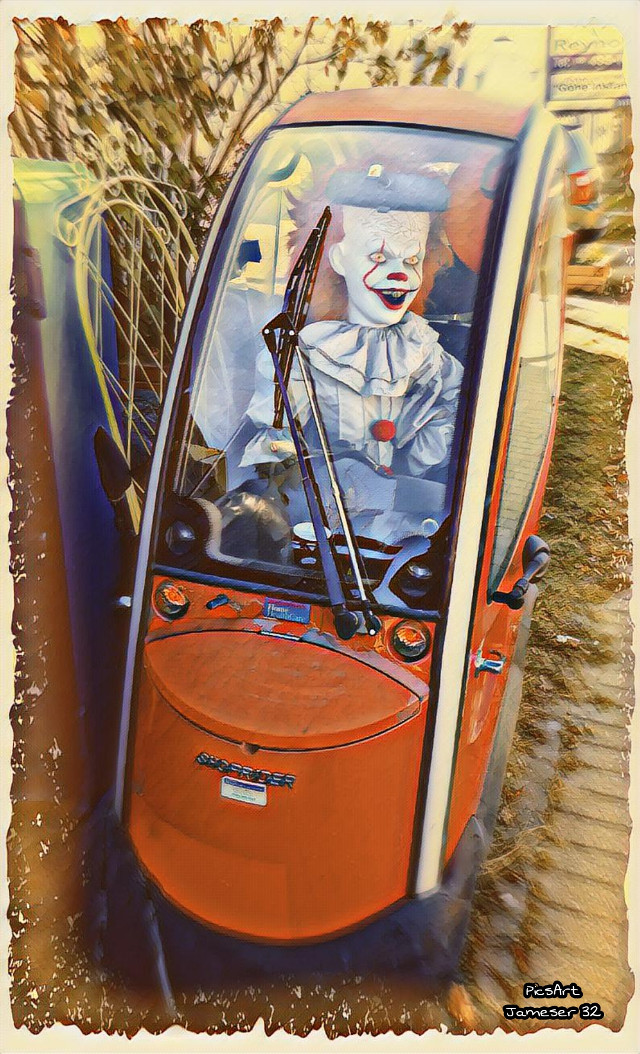 #photography #colorful #Halloween #horror  #creepy #it #IT #Pennywise # Steven-King