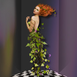 halloweenscream keepitsimple123 picsarthalloween poisonivy costume heypicsart halloween freetoedit