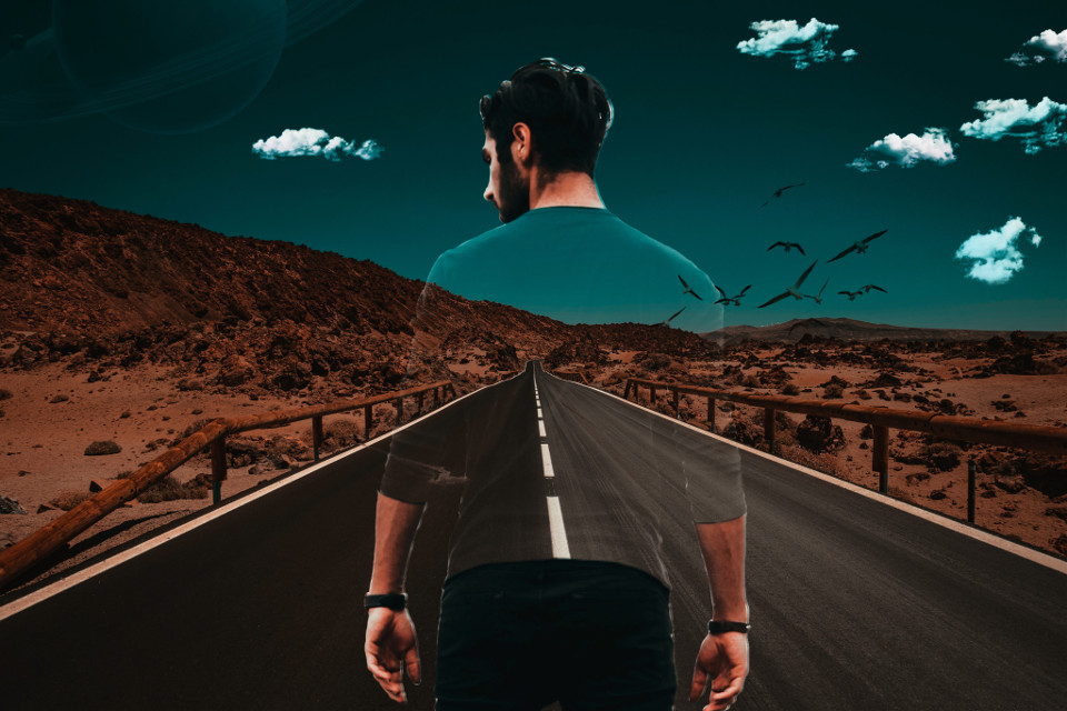 watch tutorials 👉 https://youtu.be/l8qIzB49ZqI  #art #transparent #seethroughclothes #dtsdk #picsart #art #interesting #newstyle #highway #people #birds @dtsdk @picsart #planets #surrealart #transparentclothes #standing #road #invisibleclothes #coolart #model #alone #pose #photography #photomanipulation #madewithpicsart #picsartbrushes