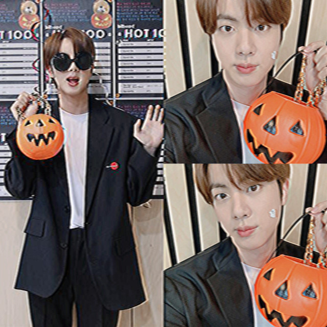 ♡ ao lado -> #kimseokjin #bts #halloween