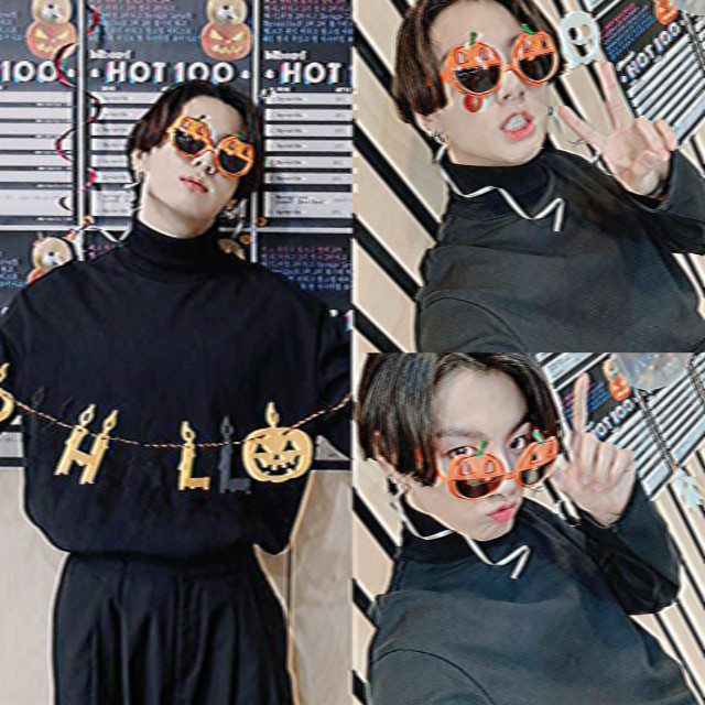 <- ao lado♡ #jeonjungkook #bts #halloween