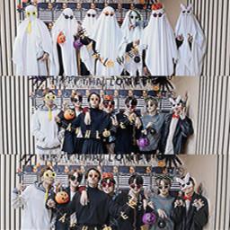 kimnamjoon kimseokjin minyoongi junghoseok parkjimin kimtaehyung jeonjungkook bts halloween