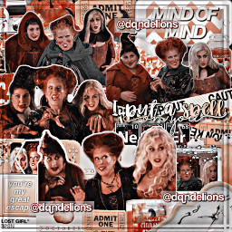 halloween hocuspocus sanderson sandersonsisters iputaspellonyou complex complexedit happyhalloween interesting witches