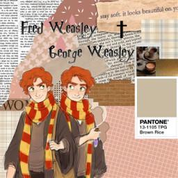 gryffindor hogwarts weasley fredandgeorgeweasley fredweasley goergeweasley harrypotter prankster ripfredweasley hogwartsschoolofwitchcraftandwizardry weasleytwins freetoedit
