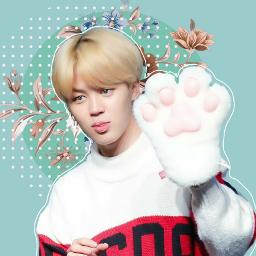 parkjimin kpop bts pastel edit cute