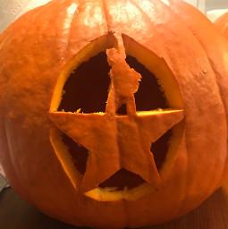 pumpkin hamilton carving hallloween2020