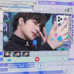 beomgyu aesthetic cyber cybercore core webcore web kidcore scenecore sticker cute soft blue rainbow rainbowcore tomorrowxtogether beomgyutxt txt freetoedit