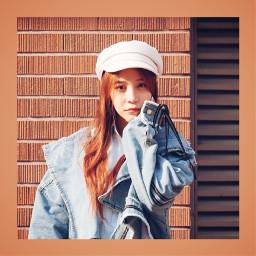 freetoedit chinesegirl redheadbeauty
