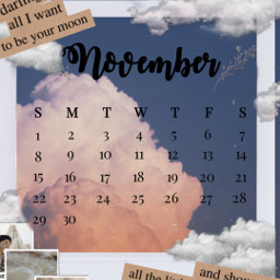 aesthtic nov november cool calendar clounds paper newspaper gold premium picsart pics art amazing extrodinary beutiful freetoedit srcnovembercalendar novembercalendar