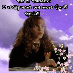 hermione 14followers 15special freetoedit