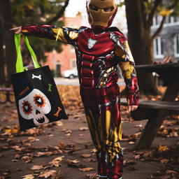 ironman son photography portrait saturday halloween fun