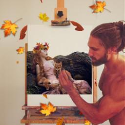 freetoedit autumn painter ircinnerartist innerartist