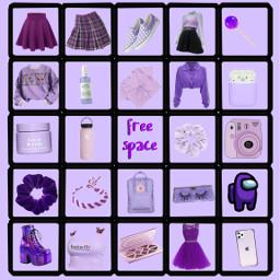 storybingo aesthetic purple vsco bingo lol freetoedit