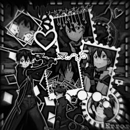 freetoedit kirito kiritoedit swordartonline anime