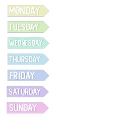 days day daysoftheweek calendar planner monday friday weekend week tuesday wednesdag thursday saturday sunday freetoedit