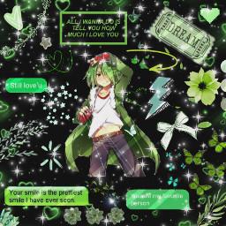 lubbock akamegakill edit anime manga baby mybaby cutie green lovehim akamegakilllubbock akamegakilledit freetoedit