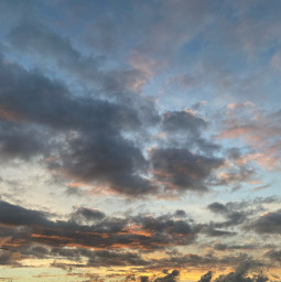 sunsetting sky clouds tree sceneryphotography skyshot interesting remixme freetoedit