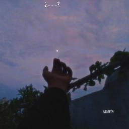moon hand photography aesthetic
