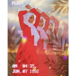 motioneffect shadowthehedgehog reddress hijabstyle freetoedit