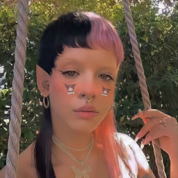 melaniemartinez melanie martinez indie girl indiegirl sanrio kuromi egirl pixie elf cute aesthetic kidcore replay tutorial edit edits saturation y2k 90s indiekid freetoedit