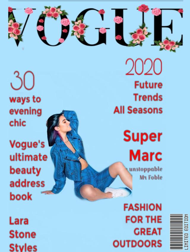 #vougemagazine #limitededition #charlidamelio #charlivouge #2020vogue