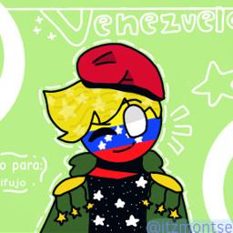 venezuela countryhumans freetoedit
