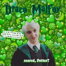 potter harry harrypotter harrypotteredit green emoji draco malfoy dracomalfoy emojicrown hearts dolphin cactus freetoedit