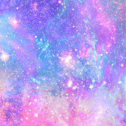 freetoedit glitter sparkle galaxy sky stars pastel cosmos shimmer pink purple colorful art cute universe space wallpaper background overlay